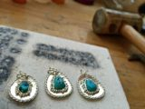 family-heirloom-jewelry-restoration-alteration-silver-turquoise-pendants