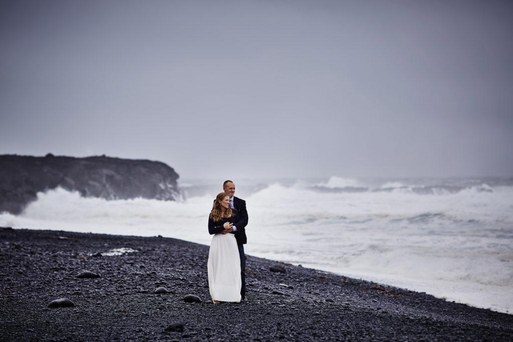 Snaefellsnes-peninsula-Iceland-black-sand-beach-wedding