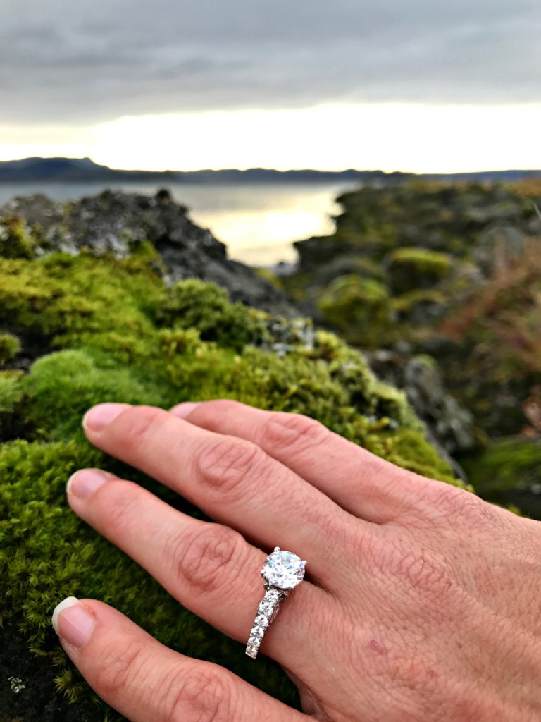 destination engagement at Lake Pingvallavatn in Iceland